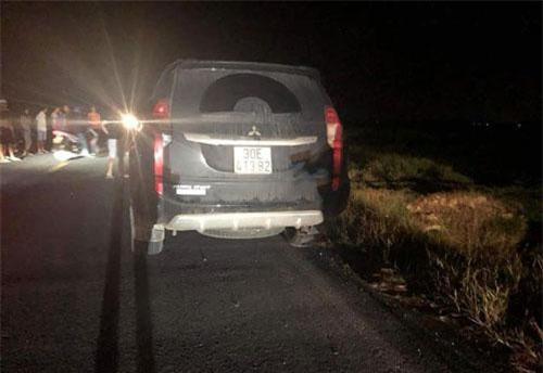 Hiện trường vụ tai nạn khiến 3 cháu nhỏ tử vong.