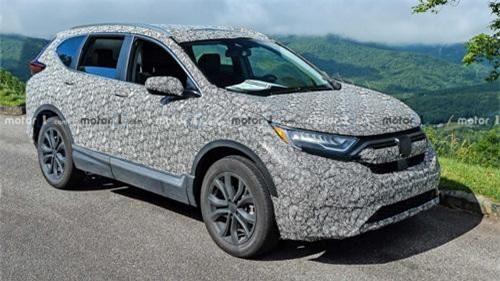 Honda CR-V 2020 lộ diện