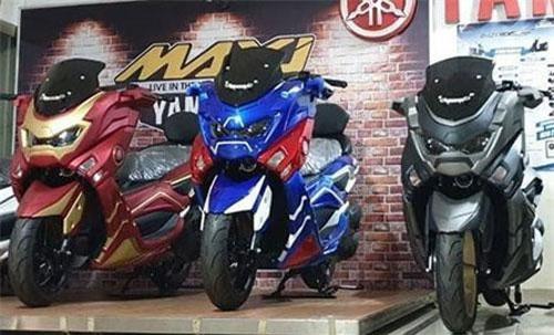 Yamaha NMAX 155 có thêm phiên bản Avengers mới.