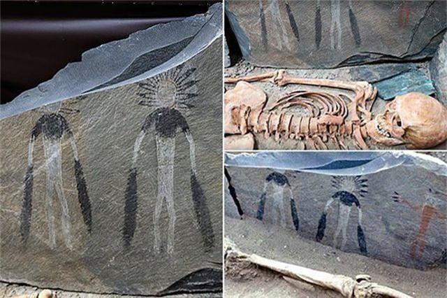 Người ngoài hành tinh có liên quan đến những bức tranh vẽ từ 5.000 năm trước? - 1