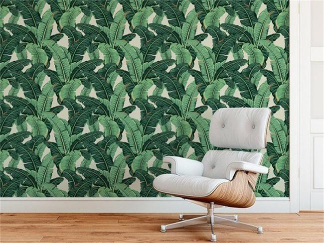 Thơ mộng và lãng mạn với thiết kế tường in hình nền thực vật - Ảnh 6.