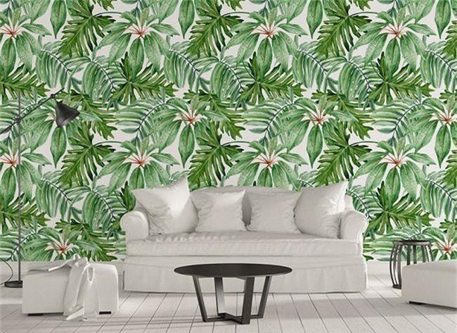 Thơ mộng và lãng mạn với thiết kế tường in hình nền thực vật - Ảnh 8.