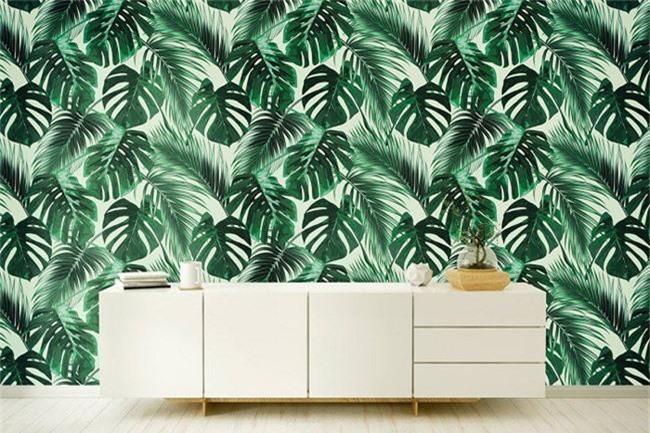 Thơ mộng và lãng mạn với thiết kế tường in hình nền thực vật - Ảnh 9.