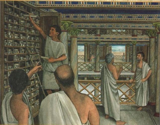 """Vi sao Julius Caesar ca gan thieu rui """"kho tang kien thuc"""" nhan loai?-Hinh-8"""