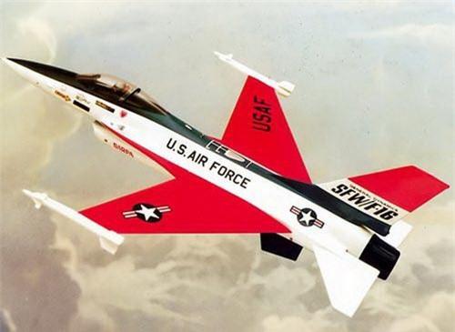 General Dynamic F-16 SFW. Ảnh: National Interest.
