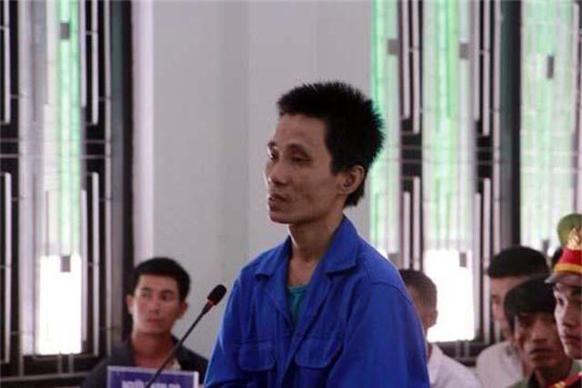 Nguyễn Văn Việt vì hành vi tàn ác của mình đã lãnh án tù chung thân (ảnh: C.Đ)