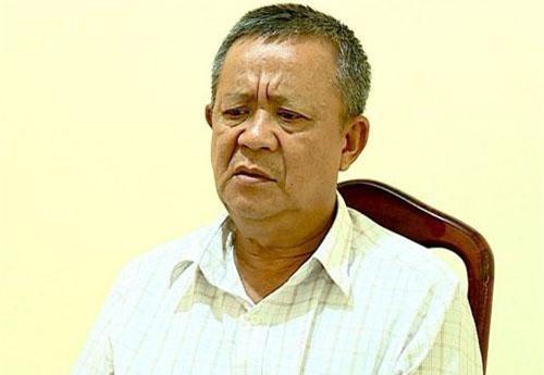 Nguyễn Ngọc Quang tại Cơ quan CSĐT.