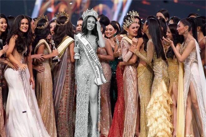 Không chỉ lạc lõng trong chiến thắng, Miss Grand ThaiLan 2019 còn bị chỉ trích bởi gương mặt đơ cứng, thiếu tự nhiên - Ảnh 6.