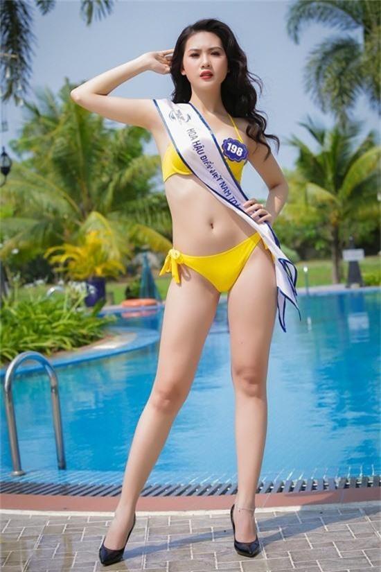 Siêu mẫu Việt Nam 2018: Vóc dáng nóng bỏng, nhiều đại gia theo đuổi - Ảnh 4.