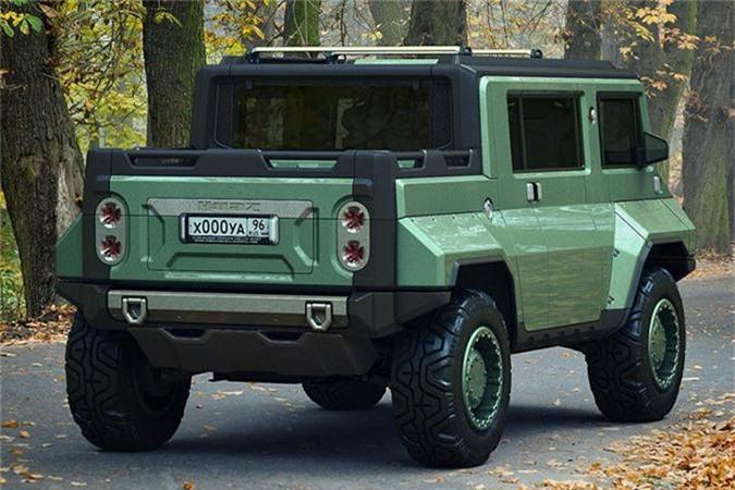 Xe H-UAZ off-road cua Nga dep va ham ho hon ca Hummer-Hinh-2