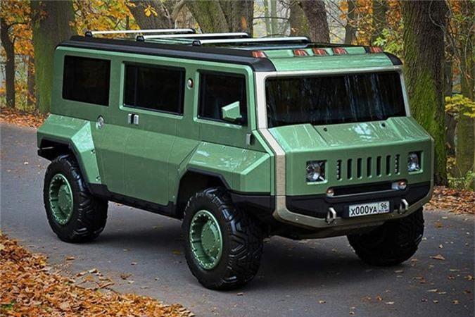 Xe H-UAZ off-road cua Nga dep va ham ho hon ca Hummer-Hinh-5