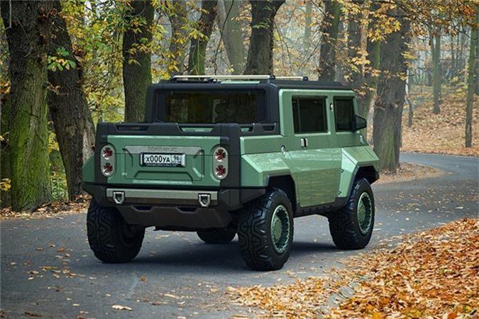 Xe H-UAZ off-road cua Nga dep va ham ho hon ca Hummer-Hinh-6