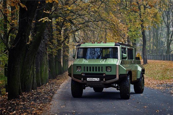 Xe H-UAZ off-road cua Nga dep va ham ho hon ca Hummer-Hinh-8
