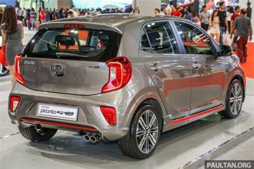 Kia Picanto phiên bản mới tại thị trường Malaysia.