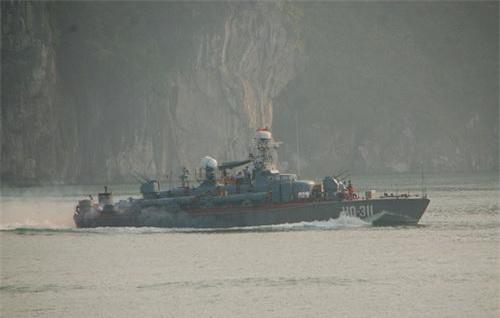 Tàu phóng lôi lớp Shershen của Hải quân Việt Nam. Ảnh: Quân đội nhân dân.