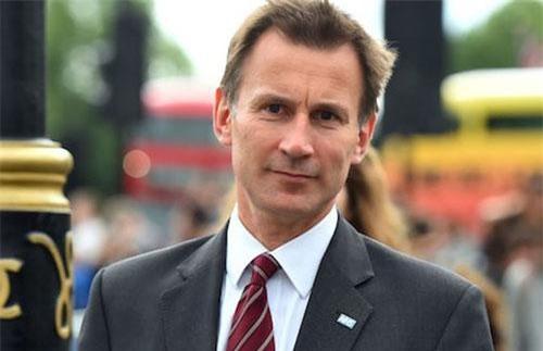Ngoại trưởng Anh Jeremy Hunt (Ảnh: Telegraph)