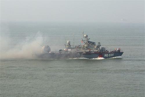 Tàu phóng lôi lớp Turya của Hải quân Việt Nam. Ảnh: Quân đội nhân dân.