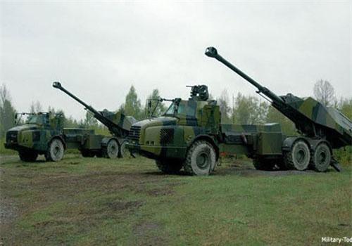 Pháo tự hành FH-77BW L-52 Archer của Thụy Điển được phát triển từ năm 2003 và đưa vào sử dụng từ năm 2013. Ảnh: Military-Today.