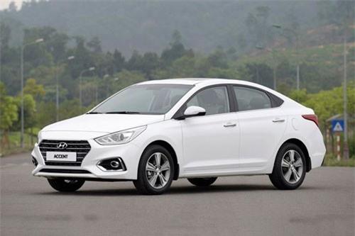 2. Hyundai Accent (doanh số: 8.785 chiếc).