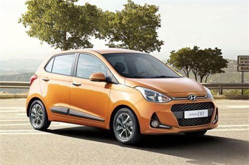 3. Hyundai Grand i10 (doanh số: 8.184 chiếc).