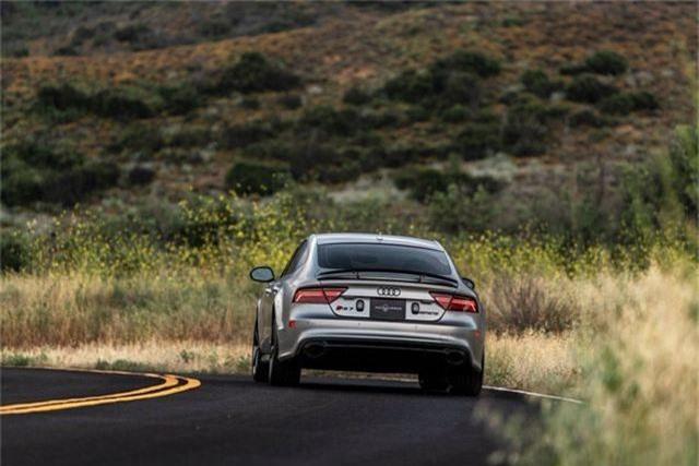 Biến Audi RS7 Sportback thành xe bọc thép nhanh nhất thế giới - 8