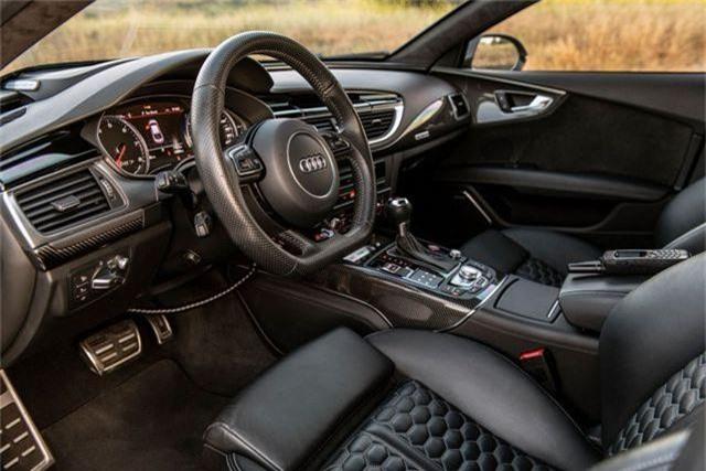 Biến Audi RS7 Sportback thành xe bọc thép nhanh nhất thế giới - 9