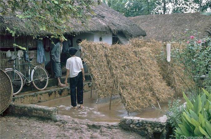 Hinh anh kho quen ve nong thon Ha Noi nam 1991-Hinh-9