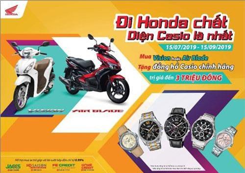 Chương trình ưu đãi của Honda Việt Nam.