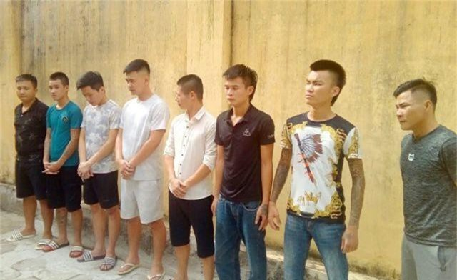 """Nhóm côn đồ chuyên """"bảo kê"""", cưỡng đoạt tài sản của tài xế taxi tại Sầm Sơn sa lưới - 1"""