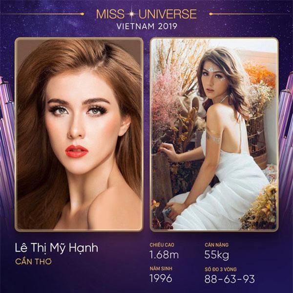 Từng tham gia Hoa hậu Hoàn vũ 2017 nhưng cô bạn không may mắn bước tiếp vào vòng trong.