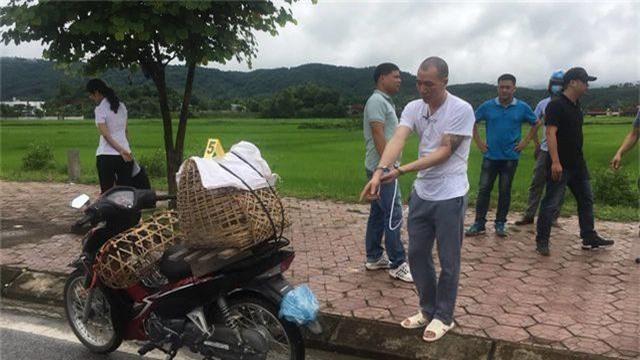 Hơn 100 cảnh sát bảo vệ thực nghiệm hiện trường vụ nữ sinh giao gà bị sát hại - 5