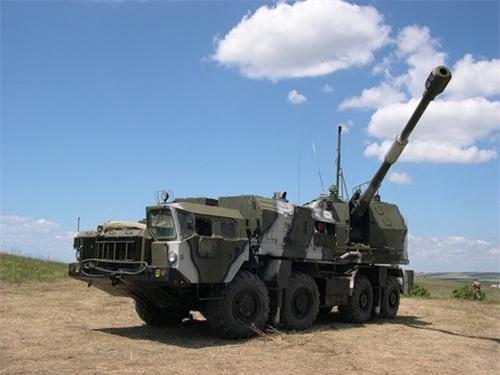 Xe mang pháo 130 mm của tổ hợp Bereg. Ảnh: Military Today.