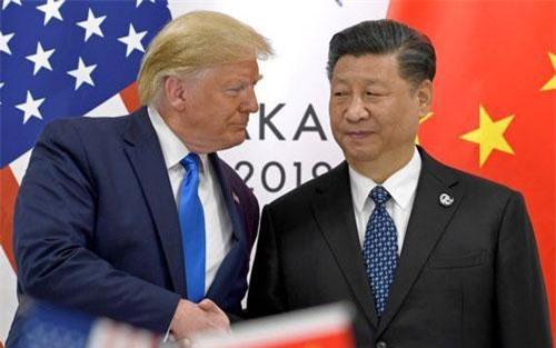 Tổng thống Trump và Chủ tịch Tập Cận Bình gặp nhau bên lề hội nghị G20 tại Nhật Bản hồi tháng 6. (Ảnh: Reuters)