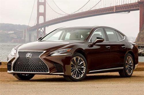 10. Lexus LS.