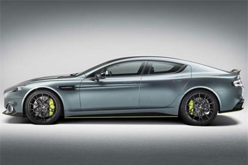 =2. Aston Martin Rapide AMR 2019 (vận tốc tối đa: 330 km/h).