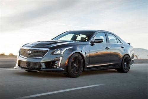 =5. Cadillac CTS-V Sedan 2019 (vận tốc tối đa: 322 km/h).