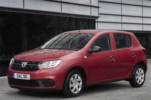 7. Dacia Sandero.