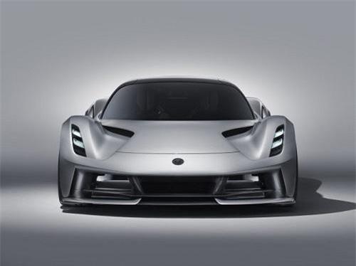 Lotus đã tiết lộ mô hình siêu xe hypercar Evija chạy hoàn toàn bằng điện của mình
