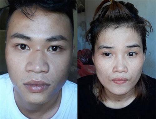 Trần Song Anh và Phan Thị Nga - hai bị can trong vụ cướp sòng bài , dùng hung khí gây thương tích cho nhiều người ở Đà Nẵng