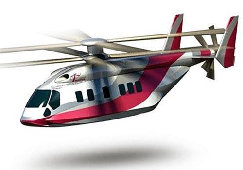 Hình đồ họa phác thảo của trực thăng Ka-65 Minoga. Nguồn: Russian Helicopters.