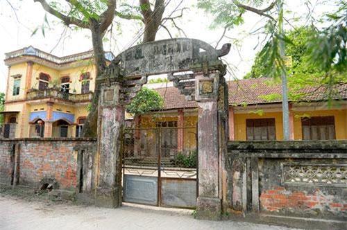 Nhà cổ ở Làng Nôm (Ảnh: ST)