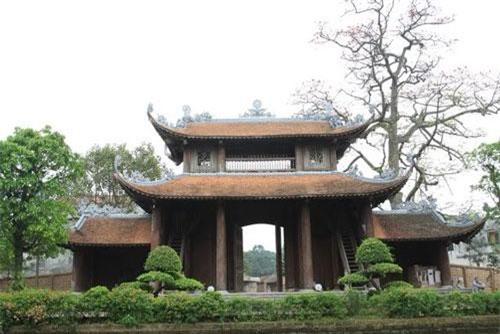 Cổng chùa Nôm (Ảnh: ST)