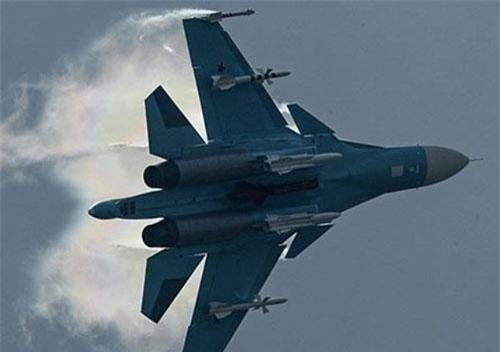 Chiến đấu cơ Nga dội bom uy lực diệt khủng bố khắp tây bắc Syria