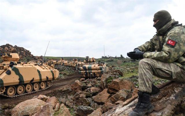 Mỹ đang lo bị Thổ Nhĩ Kỳ tấn công ở Syria