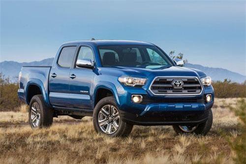 4. Toyota Tacoma (giá khởi điểm: 25.080 USD).