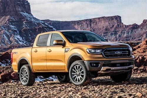 5. Ford Ranger XL (giá khởi điểm: 25.495 USD).