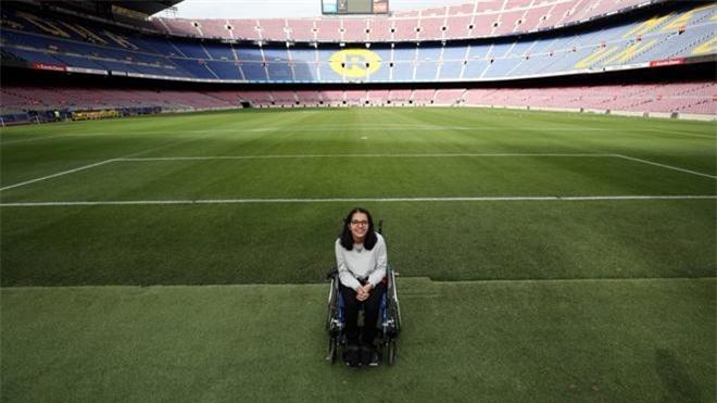 Mustafa đang vận động để người khuyết tật ở những điểm nóng trên thế giới nhận được nhiều sự giúp đỡ hơn.