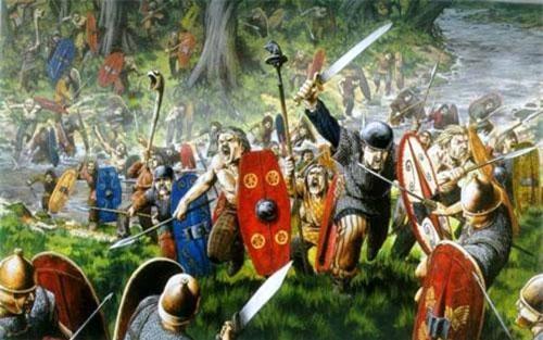 Chiến binh Celtic nổi tiếng dũng mãnh, thiện chiến khi đương đầu với kẻ địch. Họ cũng được biết đến với với việc chặt đầu kẻ thù.