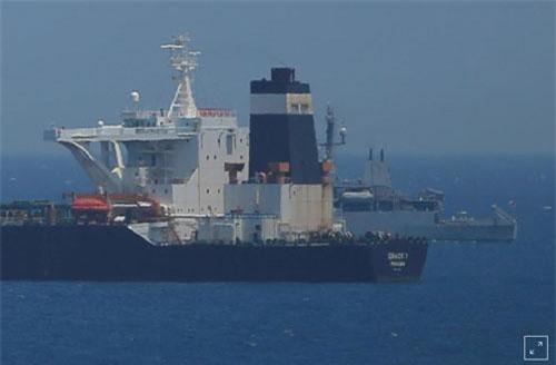Tàu Grace I bị Gibraltar và Anh bị bắt giữ vào ngày 4/7. (Ảnh: Reuters)
