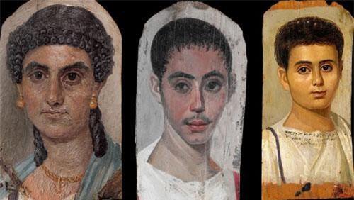 Tranh chân dung xác ướp Ai Cập cổ